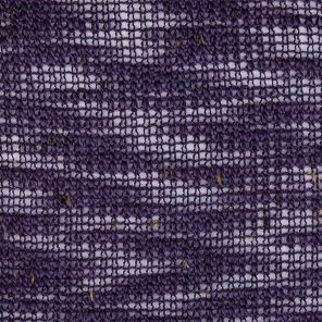 Lila Knitted Fabric With Flame Yarn And Nepps
