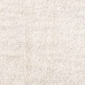 White Boucklee Knitted  Fabric