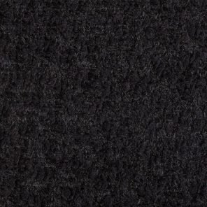 Black Soft Boucklee Hairy Fabric