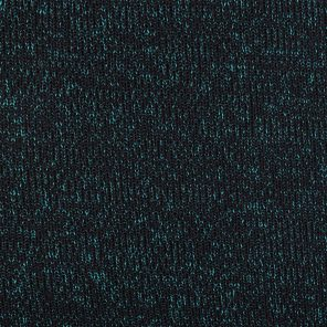 Knitted Fabric With Black/Green Twisted Yarn