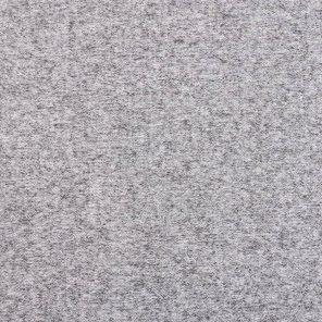 Grey Melange Brushed Single Jersey  Fabric