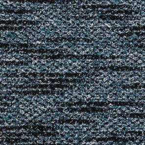 Navy-Petrol-Blue-White Moulinex Boucle Fabric