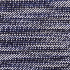 White-Blue Black Twisted Knitted Fabric
