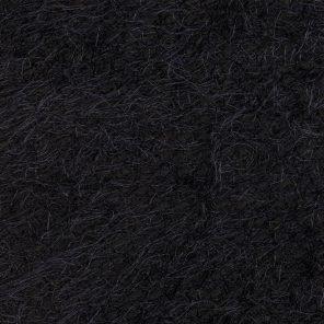 Black Hairy Knitted Fabric