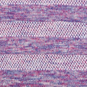 White -Lila-Pink Fancy Knitted Sersey Fabric
