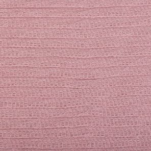 Fancy Knitted Fabric İn Colour Rose