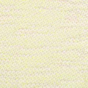 Ecru Bouqlee Knitted Fabric