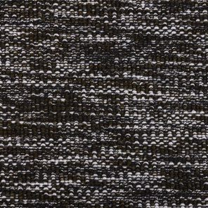 Black-White Bouckle Melange Effect Knitted Fabric