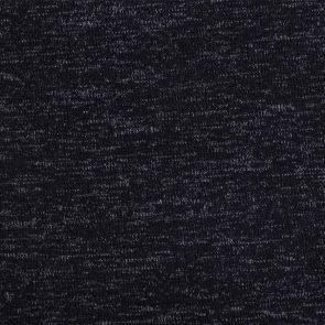 Anthracite-Melange Effect Knitted Fabric