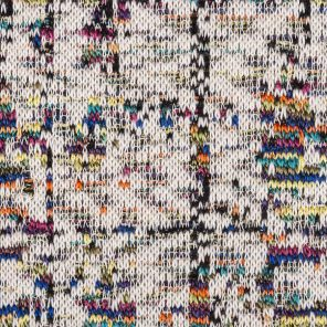 Multicolour Jaquard Knitted Fabric