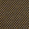 Black-Yellow Honeycomb Knitted Fabric