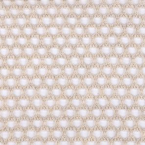 Light Beige Big Mesh Fabric