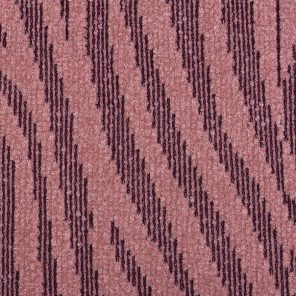 Pink Zebra Jaquard Knitted Fabric