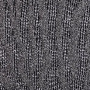 Grey Zebra Jaquard Knitted Fabric