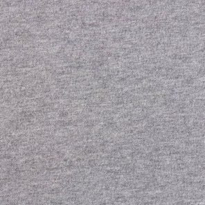 Grey - Soft Brushed  Knitted  Fabric