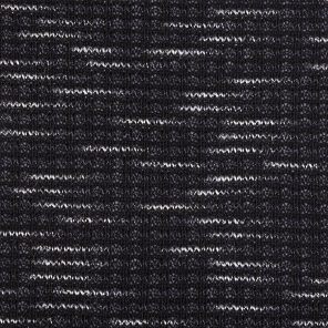Black-Grey-Twisted With White  Slub Yarn Knitted Fabric