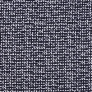Black-White Knitted Fabric
