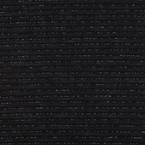Black Fancy Fabric With Silver Lurex