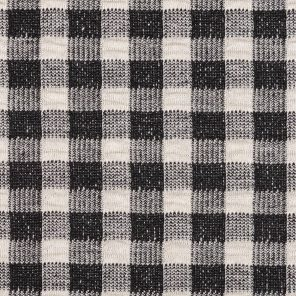Black-White Gingham Fabric