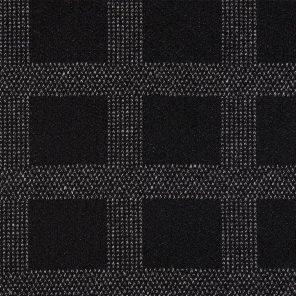 Black-White Fancy Fabric With Big Cheks