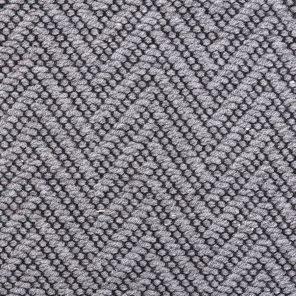 Big Fishbone Fabric-Grey